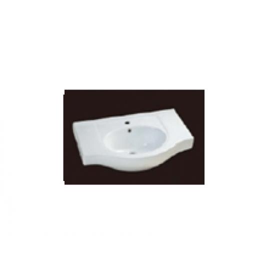 Basin, Vanity Top, D-750-A, A Series
