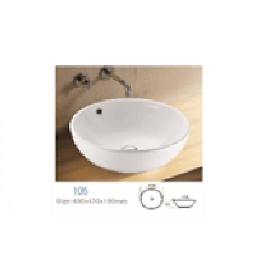Countertop Basin, DU1050, DU Series