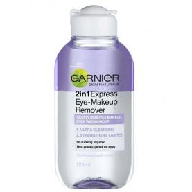 Garnier Express 2 In 1 Eye Makeup Remover 125ml