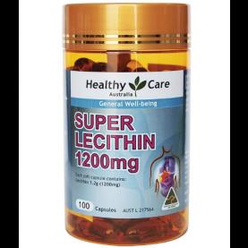 Healthy Care Lecithin 1200mg 100