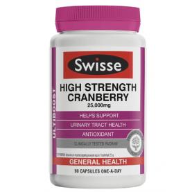 Swisse Ultiboost High Strength Cranberry 90 Capsules