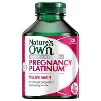 Nature's Own Pregnancy Platinum Multi 120 Capsules