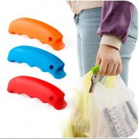 2pcs Colorful Portable Carry Bag Device Kitchen Tools Silicone Take The Package Device Does Not Hurt The Hand Protection Handles