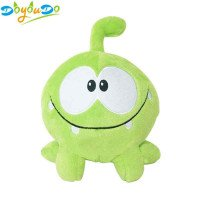 20cm Kawaii om nom Frog Plush Toy Cut the Rope Soft Rubber Figure Classic Game Toys Lovely Gift Doll for kids