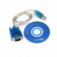 USB TO RS232 DB9 Serial COM Convertor Adapter Support PLC Dropshipping Apr 2