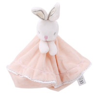 Cute Plush Rabbit Doll Toys Baby Pacifier Bunny Soothing Towel Infant Soft Security Blanket Sleep Friend