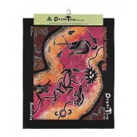 Aboriginal Art Canvas - style 2 - Large