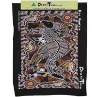 Aboriginal Art Canvas - style 1 - Large