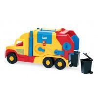 WADER Super Trucks Garbage truck short