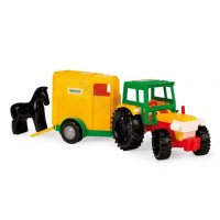 WADER tractor with trailer for horse