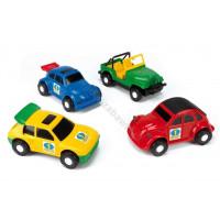 WADER Color Cars - 4 models