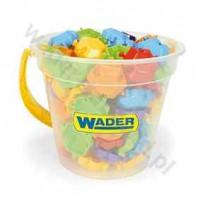 WADER blocks Puzzle 88 el. In a round bucket