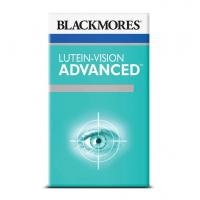 Blackmores Lutein-Vision Advanced 60 Capsules  澳洲本土加强版叶黄素blackmores护眼宁胶囊成人青少年缓解视疲