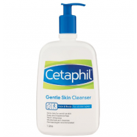 Cetaphile Gentle Skin Cleanser 1 Litre Pump Pack StaftSut Skin Mild and WashEd Pasta Milk 1L Mild and Moisturized