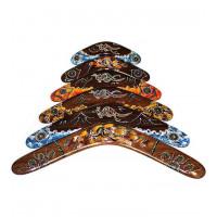 Australian Dark Wood Boomerang - size 16 inches
