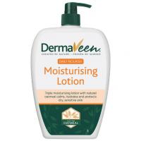 DermaVeen Everyday Moisturise Lotion 1 Litre Australia Derma Veen Conyers Oats Moisturizing Skin 1L