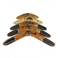 Australian Traditional Hardwood Boomerang - 12 inch