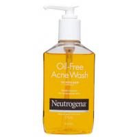 Neutrogena Oil Free Acne Wash 175ml/ Dew clear oil-free salicylic acid pox cleanser 175ml