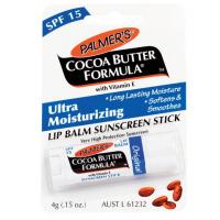 Palmers Cocoa Butter Formula Lip Balm 15+ 4g / PALMER'S 帕玛氏 可可脂维E润唇膏 4g