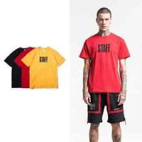 LT108 2018 men's t-shirt Europe and the United States new men Bibo English printing T-shirt high street short-sleeved t-shirt