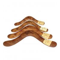 Australian Hardwood Burnt Boomerang - 14 inch