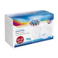 CANPOL BABIES lactating pads with self-adhesive strap 60 pcs.